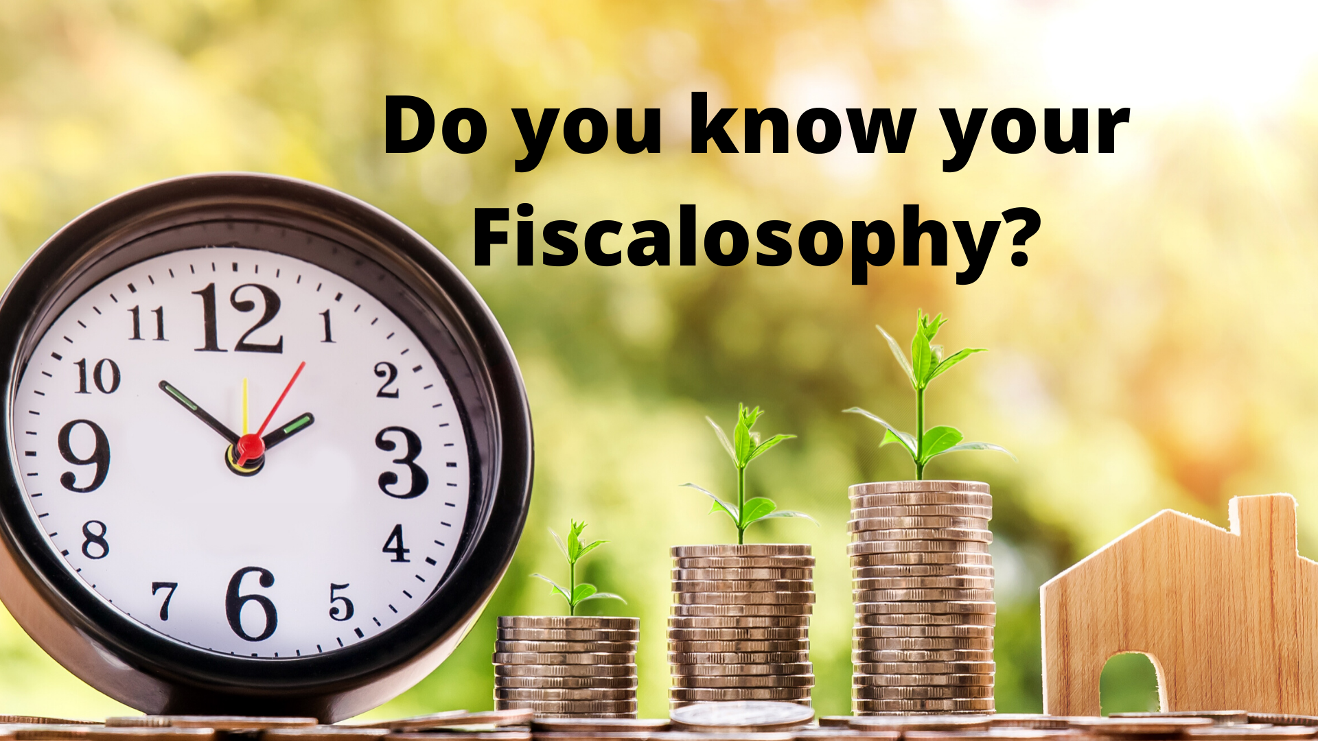 "What's Your ""Fiscalosophy""?"